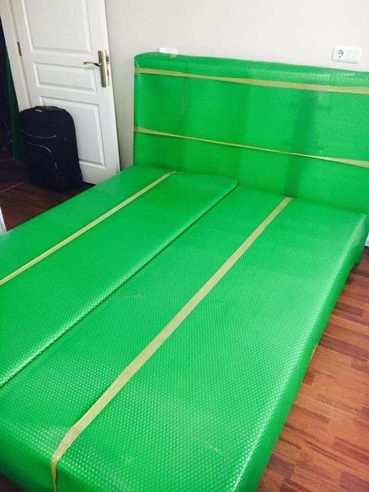 Baza yatak başı paketleme